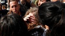 """""""أيقونة فلسطين"""" عهد التميمي.. حرة"""