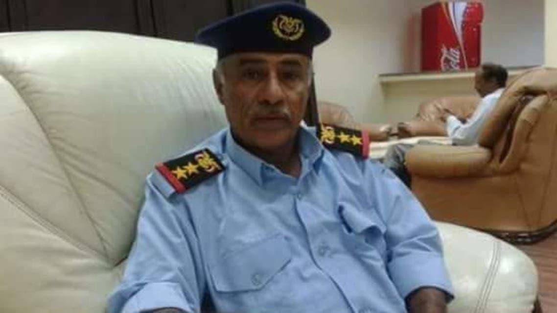 العقيد ناصر مقيرح الجعدني مسؤول الاستخبارات في مطار عدن