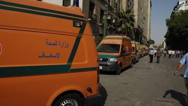 مقتل 6 وإصابة 27 في انقلاب حافلة بغرب مصر