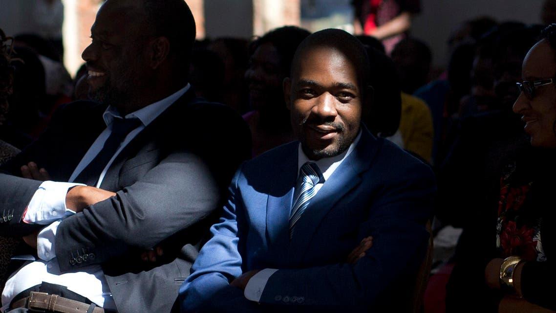 Nelson Chamisa Zimbabwe elections. (AP)