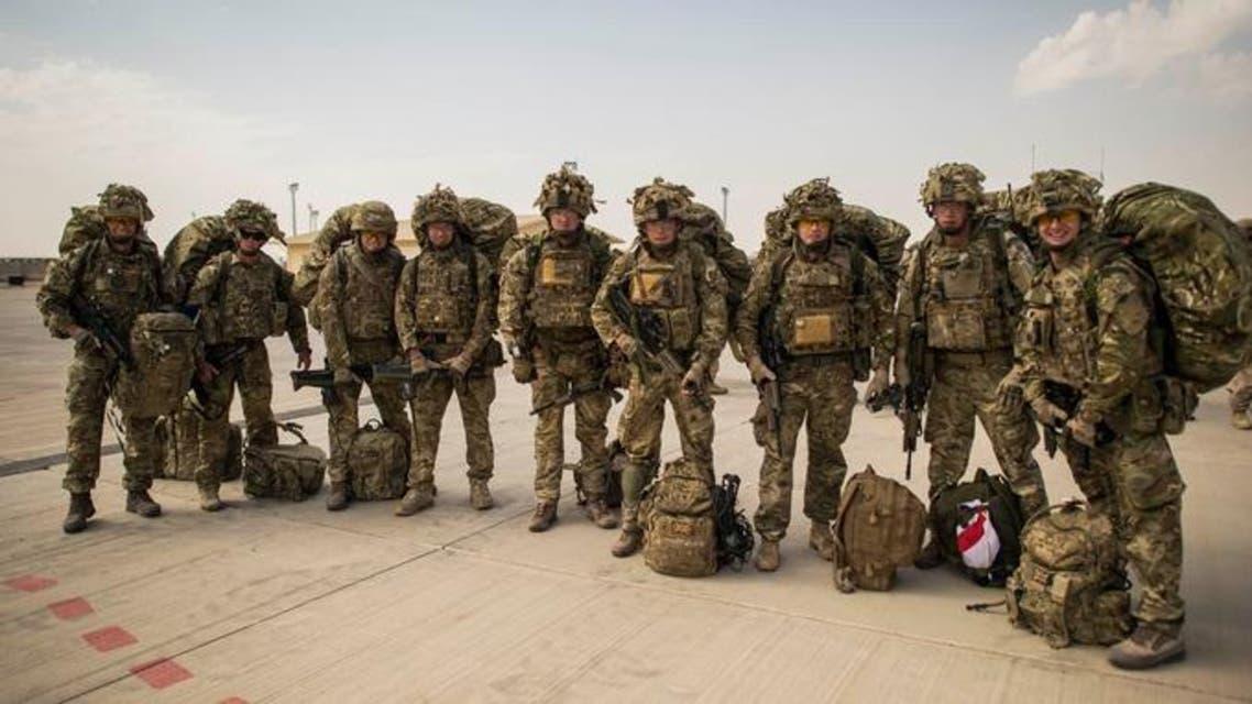 490 سرباز جدید بریتانیایی وارد افغانستان شدند