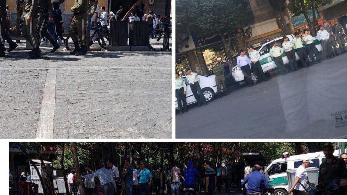 الأمن الإيراني يطوق بازار طهران