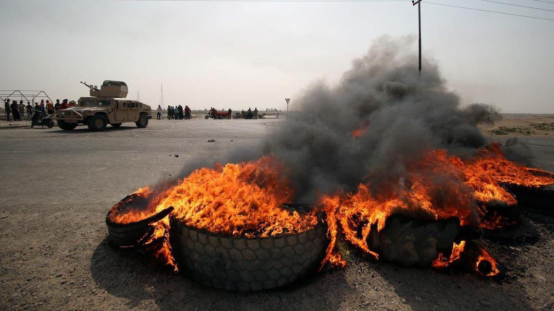 عراق.. اعتراضات جنوب عراق به تحصن تبدیل شد