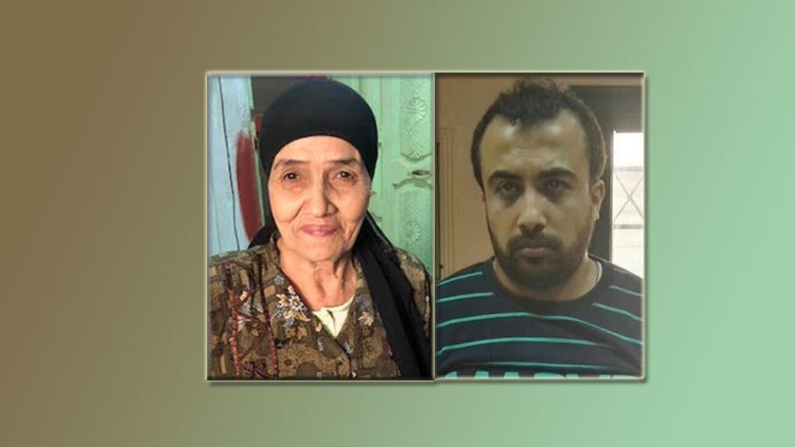 متهم مصري بدس المخدرات في حقيبة المعتمرة الظاهرة يساراً