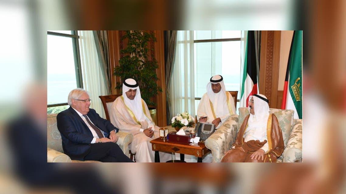 Marton met with sabah alahmar ergarding yamen