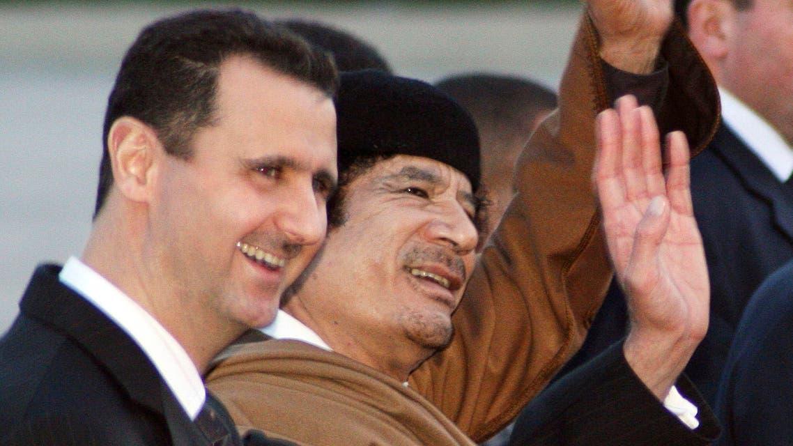 Assad Gaddafi. (AP)s