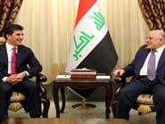 العراق.. ماذا دار بين العبادي والبرزاني في اجتماعهما؟