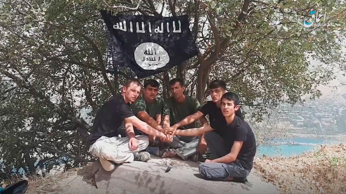 الخمسة المشتبه بتنفيذهم هجوم طاجيكستان