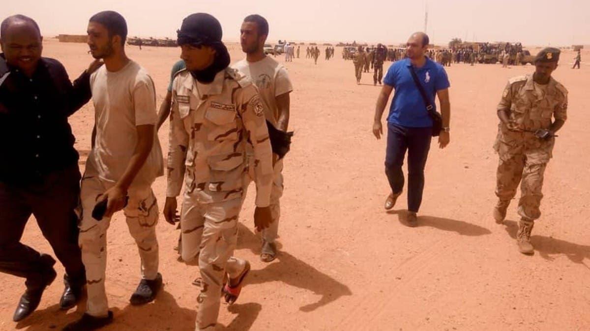 Image result for الأمن السوداني يحرر قوة عسكرية مصرية في ليبيا