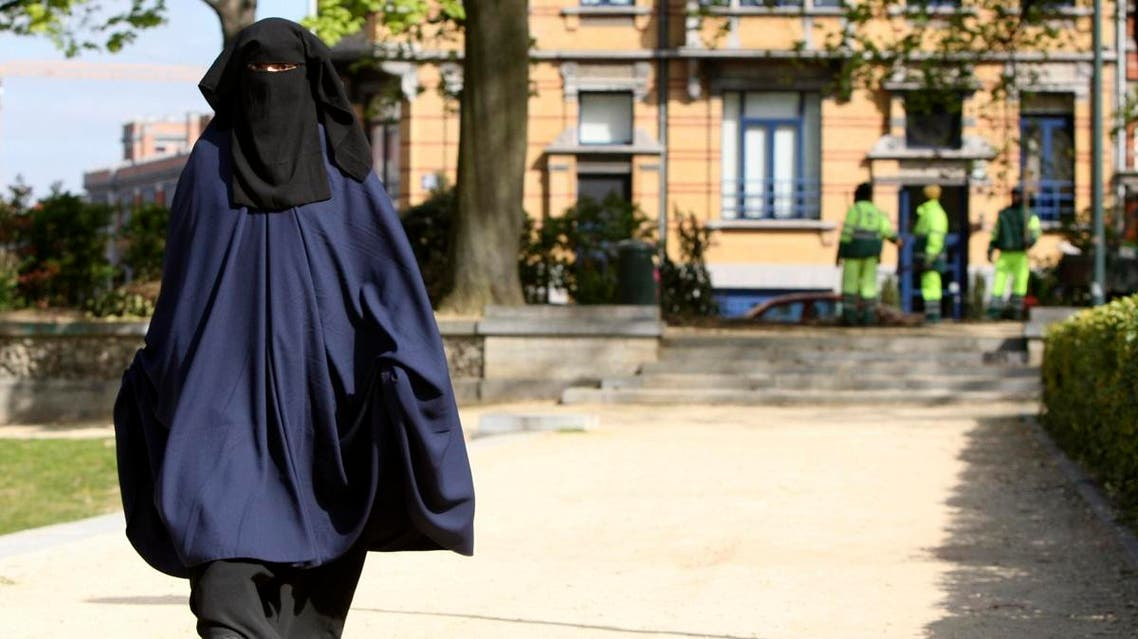File photo of a woman in burqa in belgium (AP)