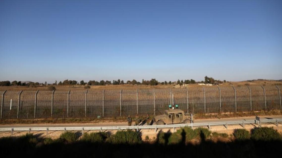گشت زنی نیروهای اسرائیلی در خط آتشبس در بلندیهای جولان
