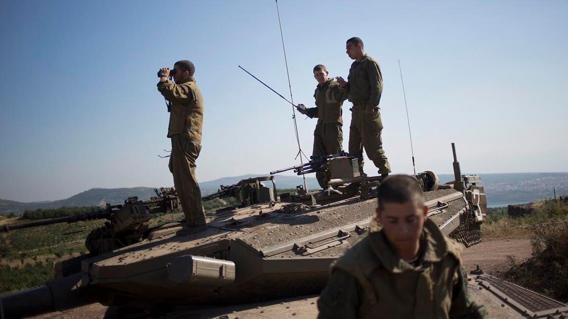 Israeli army (AP)