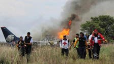 Airliner crashes in northern Mexico, 37 injured