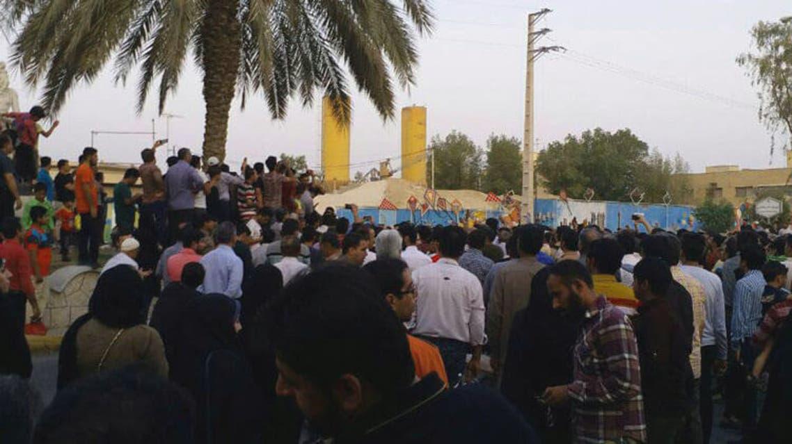 احتجاجات برازجان