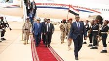 یمن : ترقیاتی منصوبوں کے سنگ بنیاد کے لیے صدر ہادی اور سعودی سفیر المہرہ میں