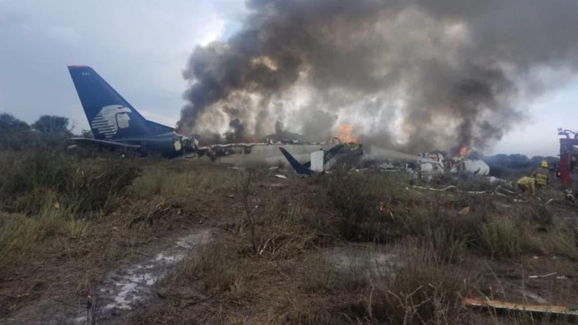 Mexico plane crash2