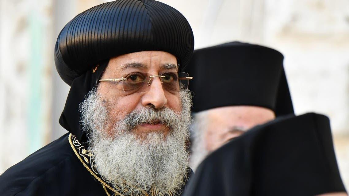 Egypt's Coptic Orthodox Pope Tawadros II (AFP)