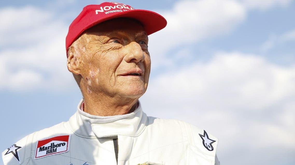 "Austrian Formula One legend Niki Lauda attends the ""legends race"" at the racetrack in Spielberg on June 30, 2018, ahead of the Austrian Formula One Grand Prix. (AFP)"