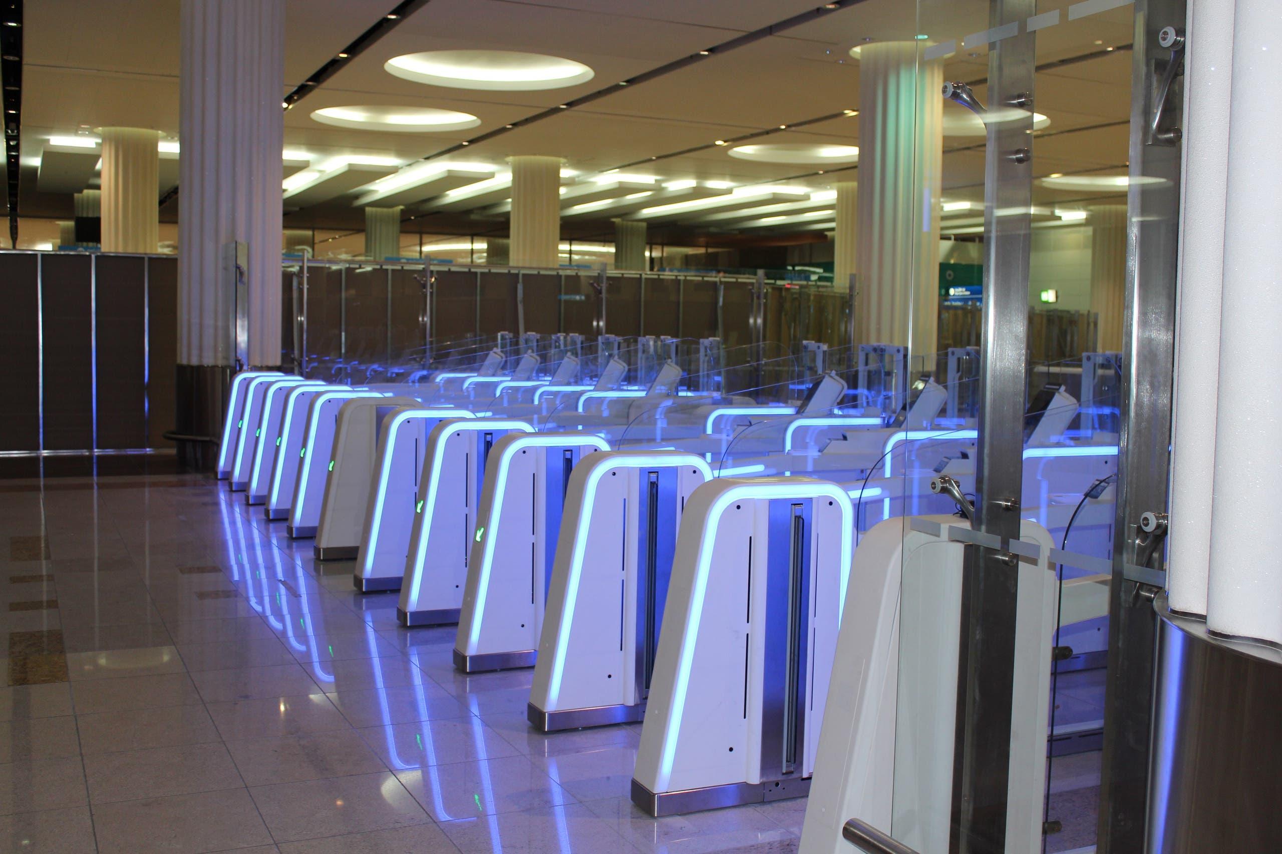 smart gates Dubai 3 (Supplied)