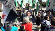 Activist Mai Skaf laid to rest in Paris flanked by Syrian Revolution flags