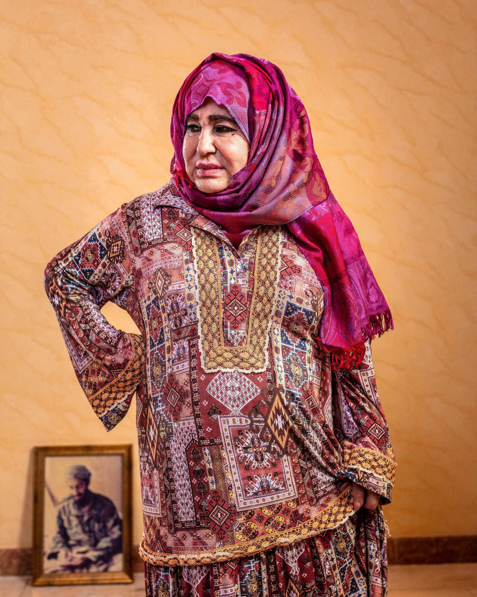 عالية غانم والدة أسامة بن لادن
