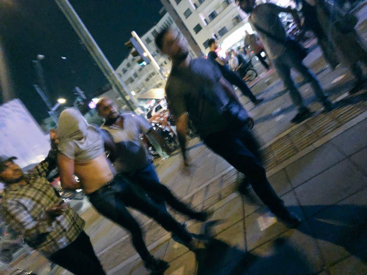 اعتقال متظاهرين في طهران