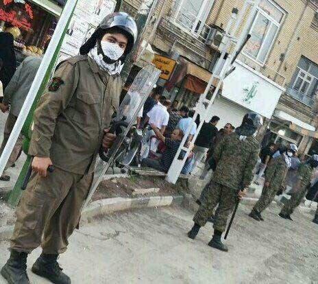 من مظاهرات إيران