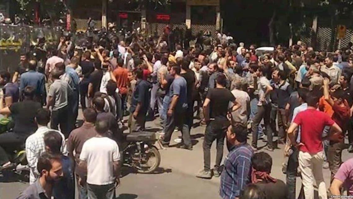 احتجاجات اصفهان