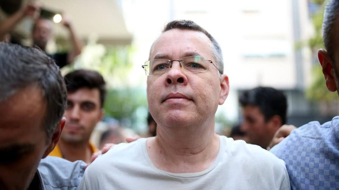 US PASTOR BRUNSON (AFP)