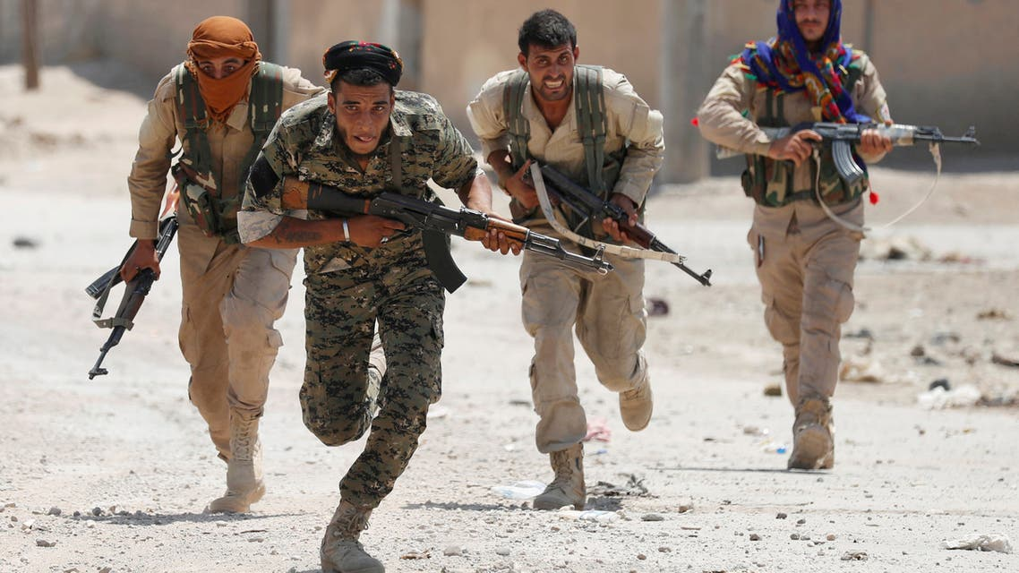 وحدات حماية الشعب الكردية في الرقة