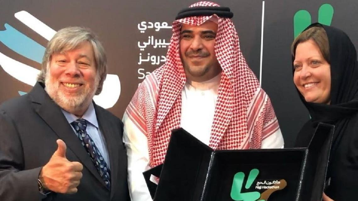 """The Saudi Federation for Cybersecurity, Programming and Drones named Steve Wozniak, the co-founder of Apple as Ambassador of """"Saudi TechHub"""". (Supplied)"""