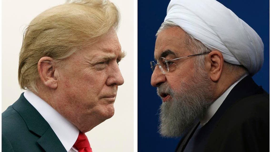 COMBO TRUMP AND ROUHANI (AP)