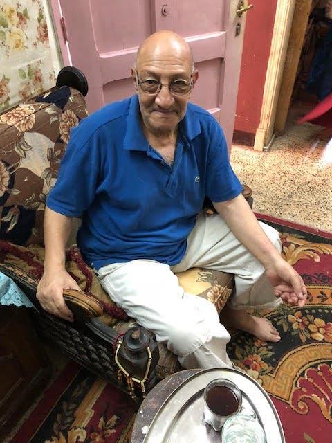 محمد عمار حفيد الناجي المصري