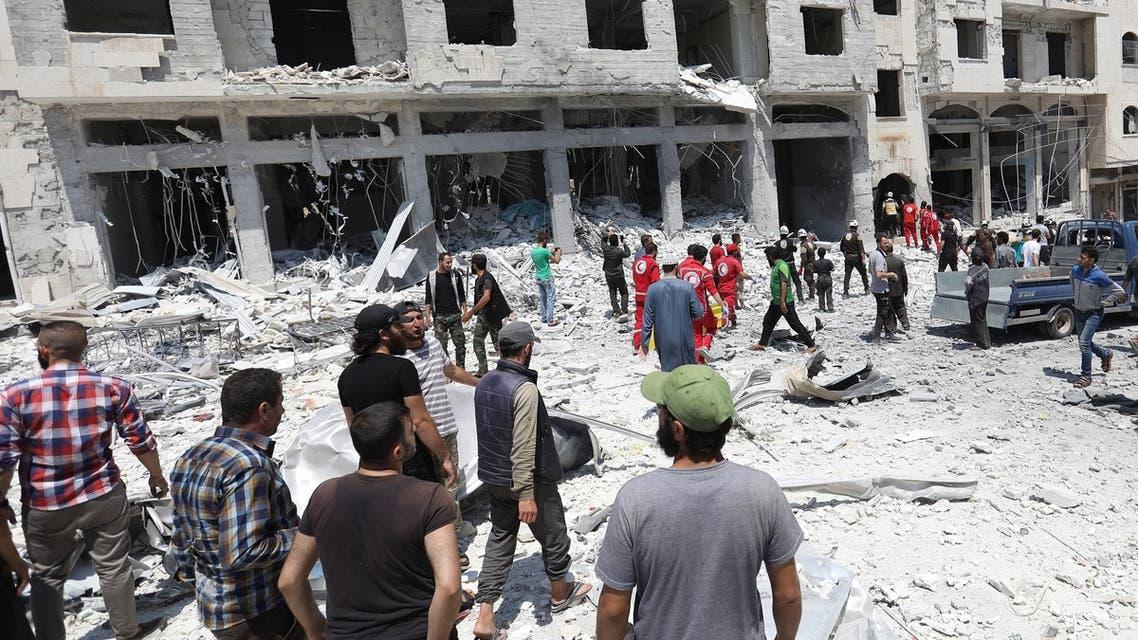 من إدلب يوم 2 أغسطس