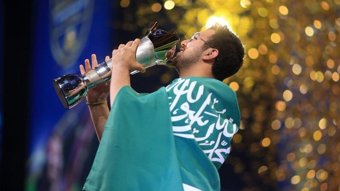 Saudi Arabia's  Mosaad Al-Dossary win the FIFA eWorld Cup on Saturday