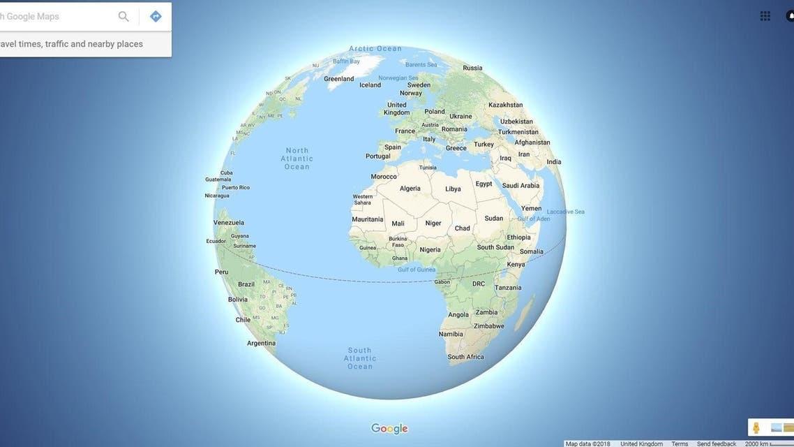 """في غوغل إيرث.. """"العالم المسطح لم يعد له وجود"""""""