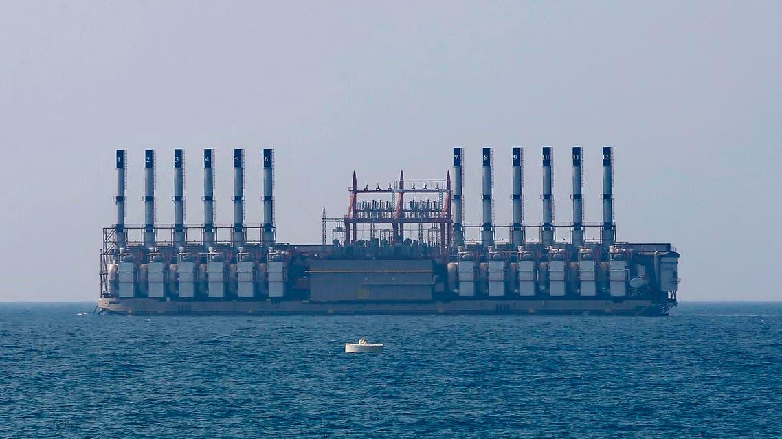 TURKEY POWER SHIP ESRA SULTAN LEBANON (AP)