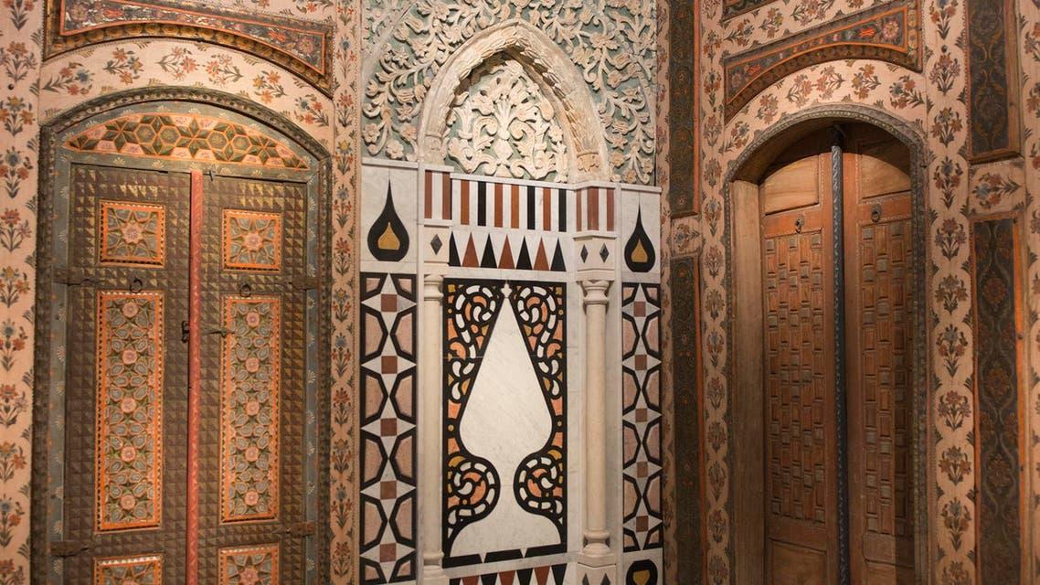 damascene room at saudi museum. (Supplied)