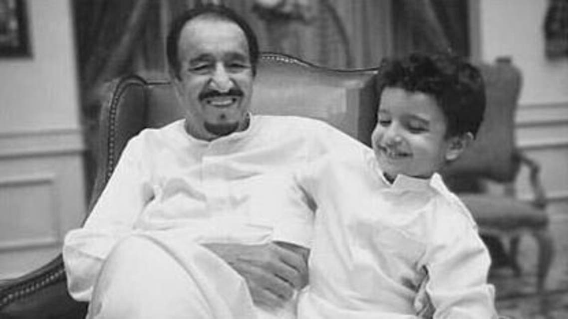 The young boy is the son of Prince Khalid bin Salman, the Saudi ambassador to the United States.