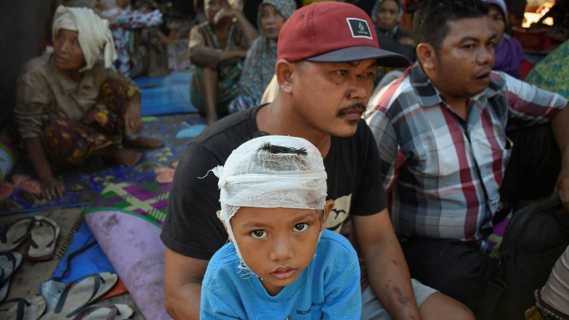 Lombok earthquake indonesia. (Reuters)