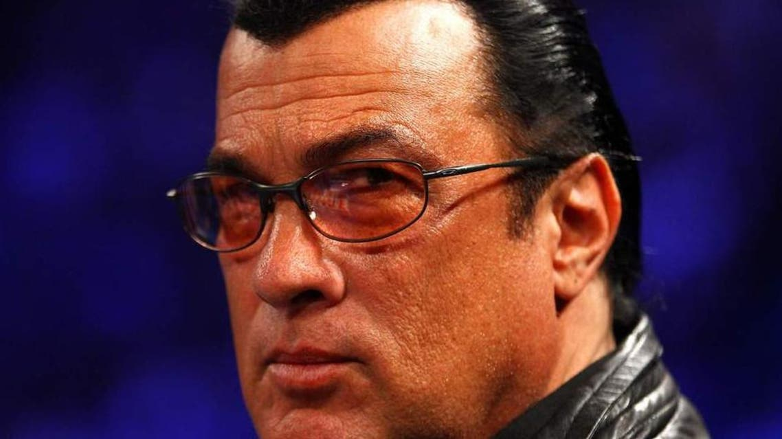 Seagal sometimes appears on Russian state TV to talk about his views and career. (AFP)