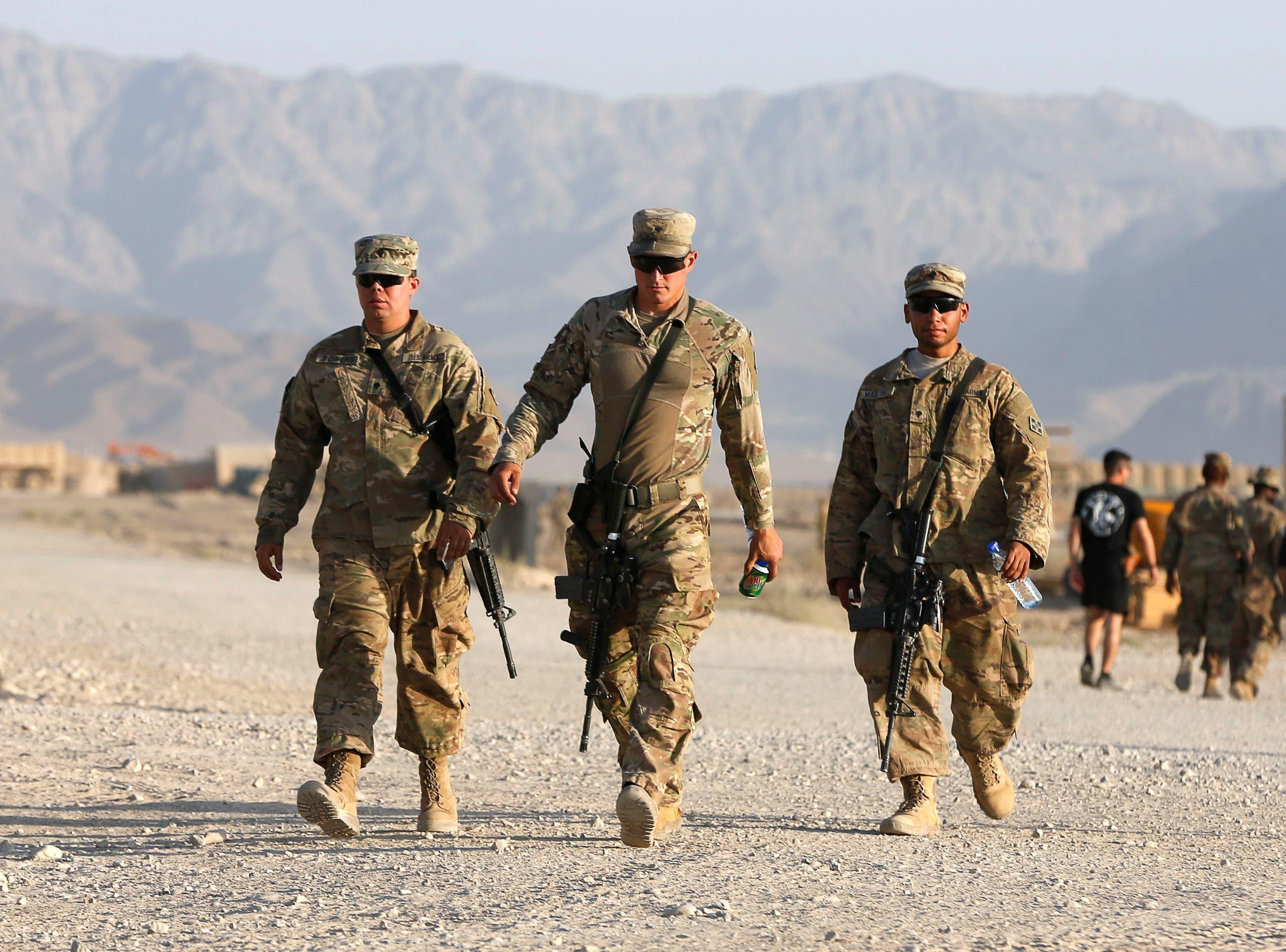 عناصر من القوات الأميركية في أفغانستان