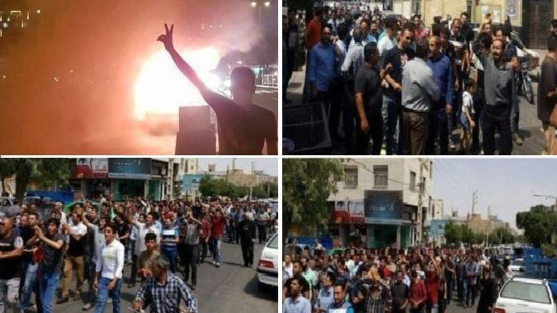 For six consecutive days, anti-government protests by Iranians fed up with their nation's economic woes have spread to 10 major cities
