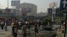 مصر : قاہرہ کے جنوب میں گاڑی میں دھماکا ، 9 افراد زخمی