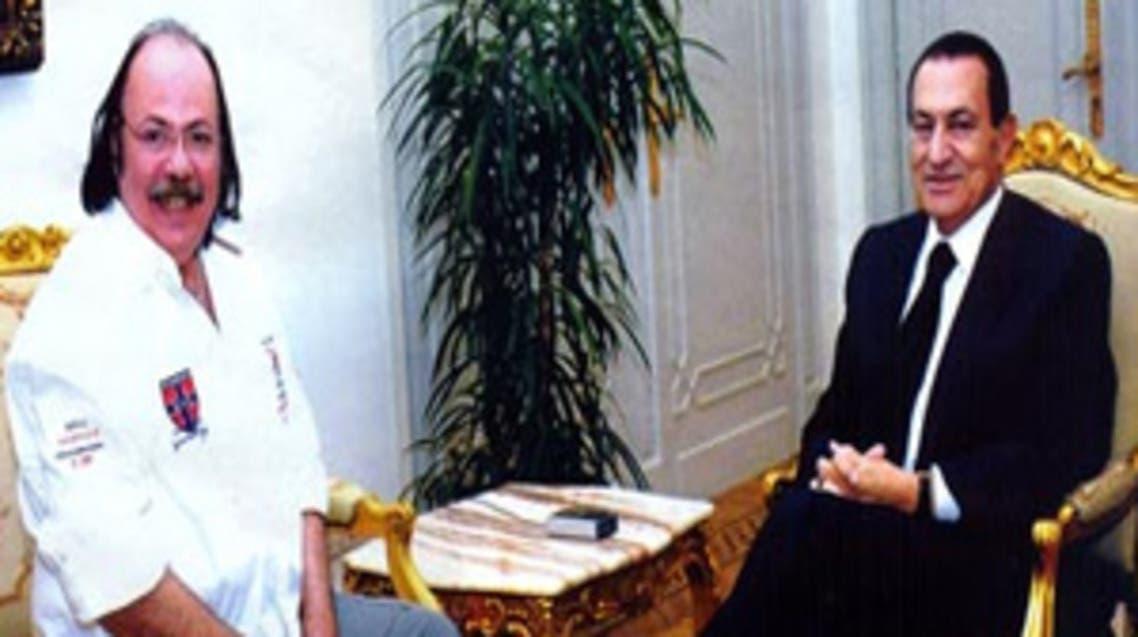 الرئيس مبارك وطلعت زكريا