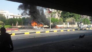بعد حادث تصادم.. إصابة 9 أشخاص في انفجار سيارة بالقاهرة