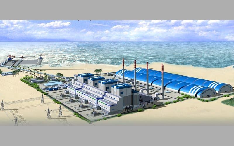 صورة تصورية لمحطة حصيان في دبي وطريقة حفظ الفحم داخليا