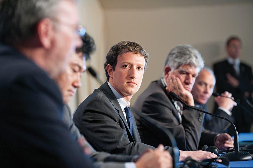 """مارك زوكربيرغ، الرئيس التنفيذي لشركة """"فيسبوك"""""""