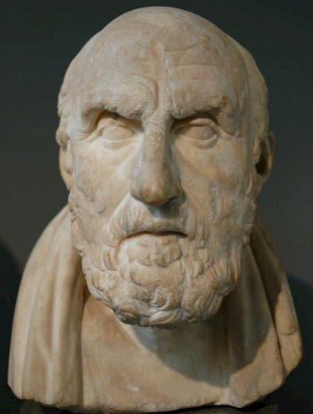 تمثال نصفي للفيلسوف الإغريقي خريسيبوس