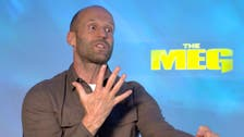 WATCH: How Jason Statham overcame his fear of sharks before filming The Meg
